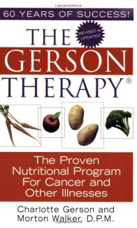 Gerson Therapy Book Cover